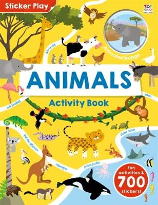 Sticker Play Animals - Sticker Play (Paperback)