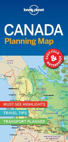 Lonely Planet Canada Planning Map - Map (Sheet map, folded)