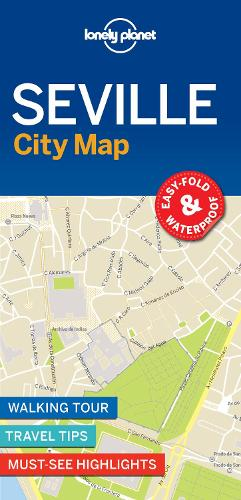 Lonely Planet Seville City Map - Map (Sheet map, folded)