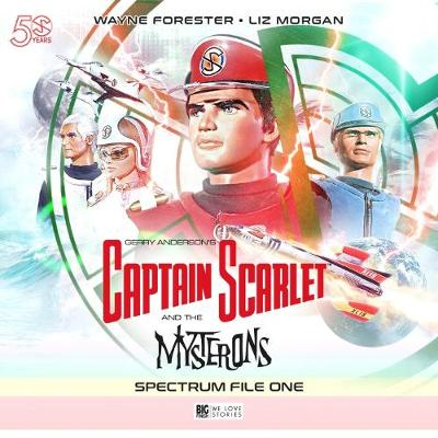 Captain Scarlet and the Mysterons: No. 1: The Spectrum File (CD-Audio)