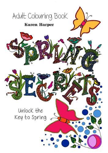 Adult Colouring Book - Spring Secrets (Paperback)