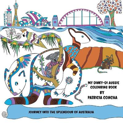My Dinky-di Aussie Colouring Book (Paperback)