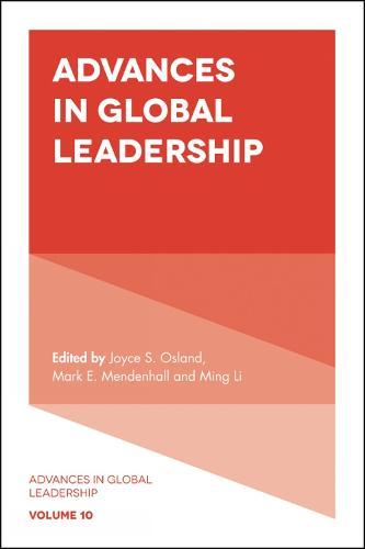 Advances in Global Leadership - Advances in Global Leadership 10 (Hardback)