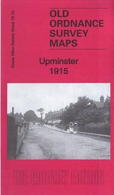 Upminster 1915: Essex Sheet 79.16 - Old Ordnance Survey Maps of Upminster (Sheet map, folded)