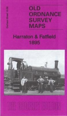 Harraton & Fatfield 1895: County Durham Sheet 13.06 - Old Ordnance Survey Maps of County Durham (Sheet map, folded)