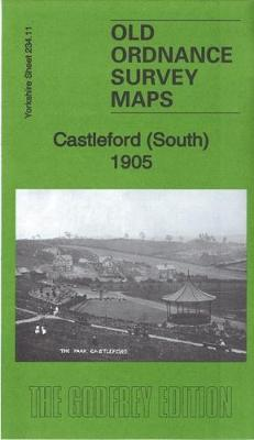 Castleford (South) 1905: Yorkshire Sheet 234.11 - Old Ordnance Survey Maps of Yorkshire (Sheet map, folded)