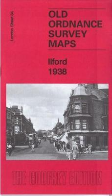 Ilford 1938: London Sheet 34.4 - Old Ordnance Survey Maps of London (Sheet map, folded)