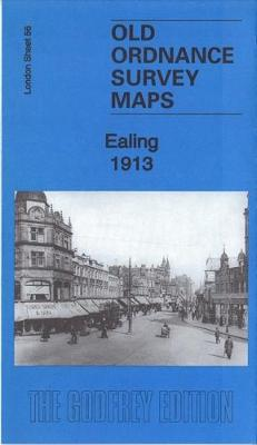 Ealing 1913: London Sheet 53.3 - Old Ordnance Survey Maps of London (Sheet map, folded)