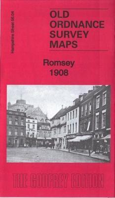 Romsey 1908: Hampshire Sheet 56.04 - Old Ordnance Survey Maps of Hampshire (Sheet map, folded)