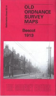 Bescot 1913: Staffordshire Sheet 63.14b - Old Ordnance Survey Maps of Staffordshire (Sheet map, folded)
