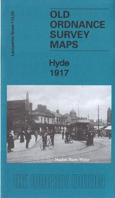 Hyde 1917: Lancashire Sheet 112.03 - Old Ordnance Survey Maps of Lancashire (Sheet map, folded)