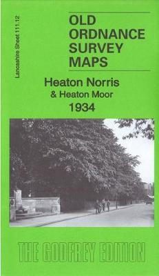 Heaton Norris & Heaton Moor 1934: Lancashire Sheet 111.12c - Old Ordnance Survey Maps of Lancashire (Sheet map, folded)