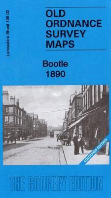 Bootle 1890: Coloured Edition: Lancashire Sheet 106.02 - Old Ordnance Survey Maps of Lancashire (Sheet map, folded)
