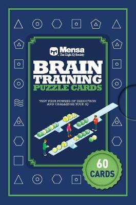 Puzzle Cards: Mensa Brain Training