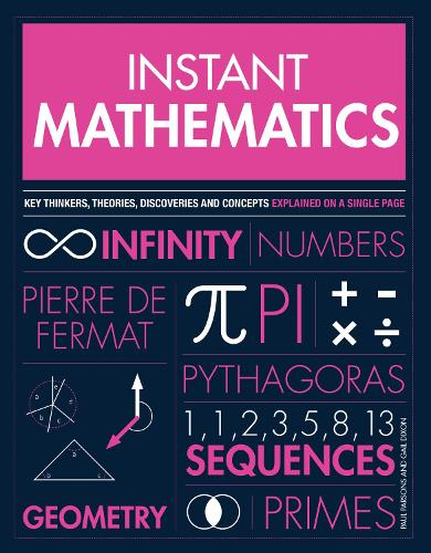 Instant Mathematics: Key Thinkers, Theories, Discoveries and Concepts Explained on a Single Page (Paperback)