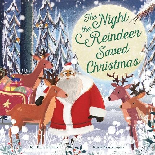 The Night the Reindeer Saved Christmas (Paperback)