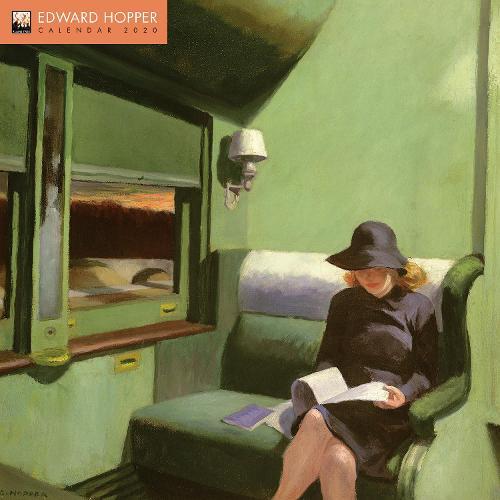 Edward Hopper Wall Calendar 2020 (Art Calendar) (Calendar)