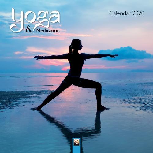 Yoga & Meditation Wall Calendar 2020 (Art Calendar) (Calendar)