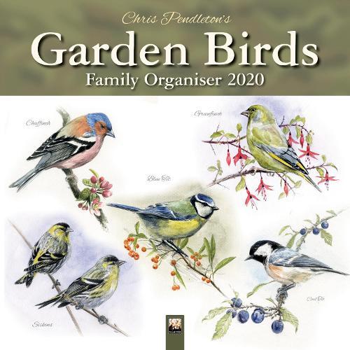 Chris Pendleton Garden Birds Family Organiser 2020 (Calendar)