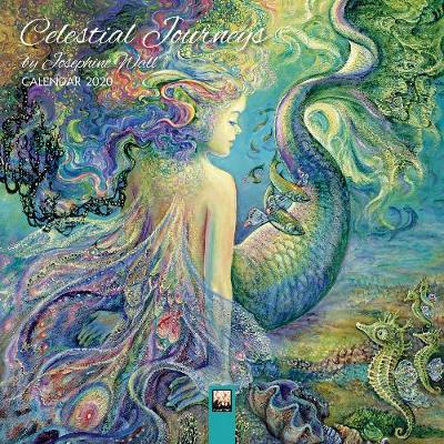 Celestial Journeys by Josephine Wall - Mini Wall calendar 2020 (Art Calendar) (Calendar)
