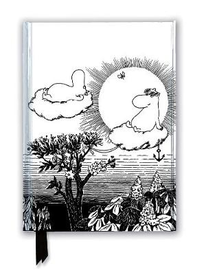 Moomin and Snorkmaiden from Finn Family Moomintroll (Foiled Journal) - Flame Tree Notebooks