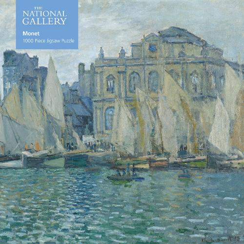 Adult Jigsaw National Gallery: Monet The Museum at Le Havre: 1000 piece jigsaw - 1000-piece jigsaws