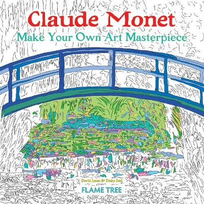 Claude Monet (Art Colouring Book): Make Your Own Art Masterpiece - Colouring Books (Paperback)
