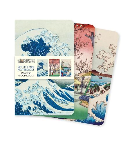 Japanese Woodblocks Mini Notebook Collection - Mini Notebook Collections