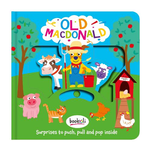 Old MacDonald - Push, Pull, Pop 1 (Hardback)