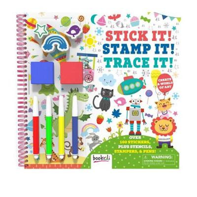 Stick It! Stamp It! Trace It! (Paperback)