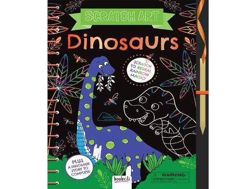 Dinosaurs: Scratch Art (Hardback)