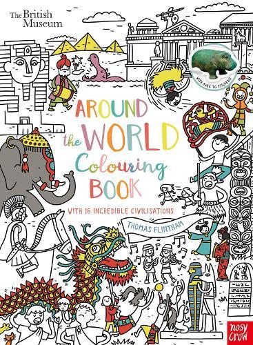 British Museum: Around the World Colouring Book (Paperback)
