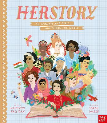 HerStory: 50 Women and Girls Who Shook the World (Hardback)