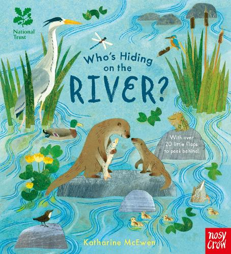 National Trust: Who's Hiding on the River? - Who's Hiding Here? (Board book)