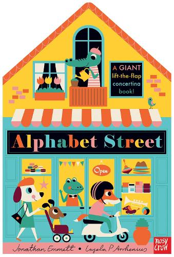 Alphabet Street (Board book)