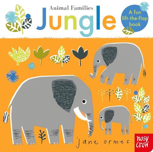 Animal Families: Jungle (Board book)