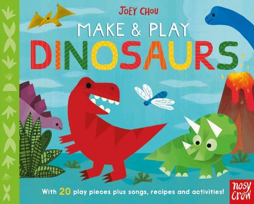 Make and Play Dinosaurs - Make and Play (Board book)