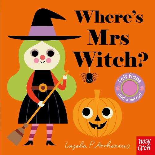 Where's Mrs Witch? - Felt Flaps (Board book)
