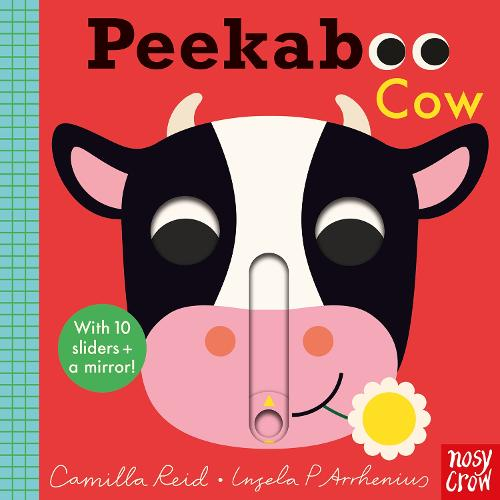 Peekaboo Cow - Peekaboo (Board book)