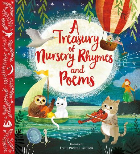 A Treasury of Nursery Rhymes and Poems - Nosy Crow Classics (Hardback)
