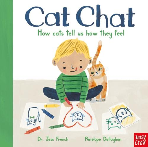 Cat Chat: How cats tell us how they feel (Board book)