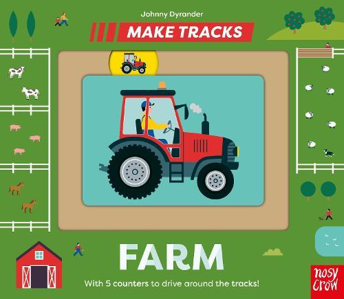 Make Tracks: Farm - Make Tracks (Board book)