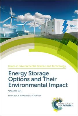 Energy Storage Options and Their Environmental Impact - Issues in Environmental Science and Technology (Hardback)