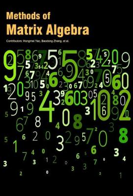 Methods of Matrix Algebra (Hardback)