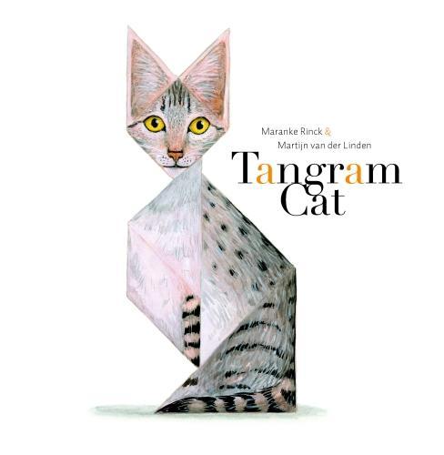 Tangram Cat (Hardback)