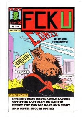 Fcku #1 - Pratt Comix 2 (Paperback)