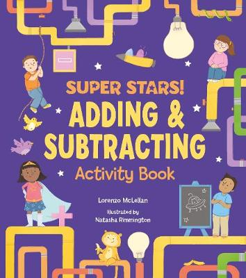 Super Stars! Adding and Subtracting Activity Book (Paperback)