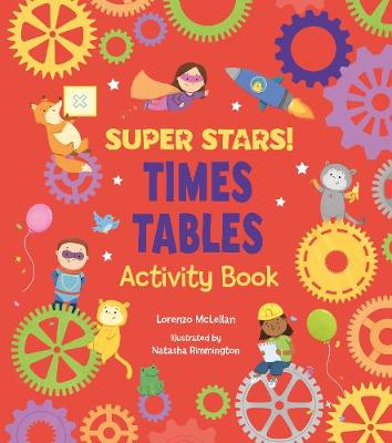 Super Stars!: Times Tables Activity Book (Paperback)