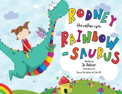 Rodney the Rather Rare Rainbowsaurus (Paperback)