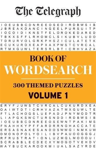 The Telegraph Book of Wordsearch Volume 1 - The Telegraph Puzzle Books (Paperback)
